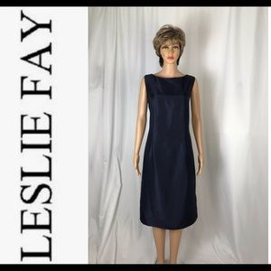 Navy Blue Sheath Dress